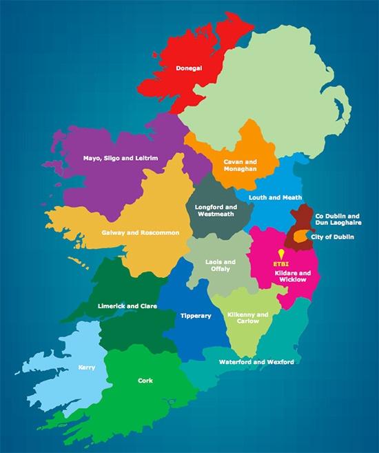 education and training boards, Ireland